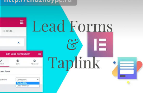 Lead Forms and TapLink